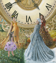 Regine-de-tempo-passato-presente-futuro-sassari-alghero-poster